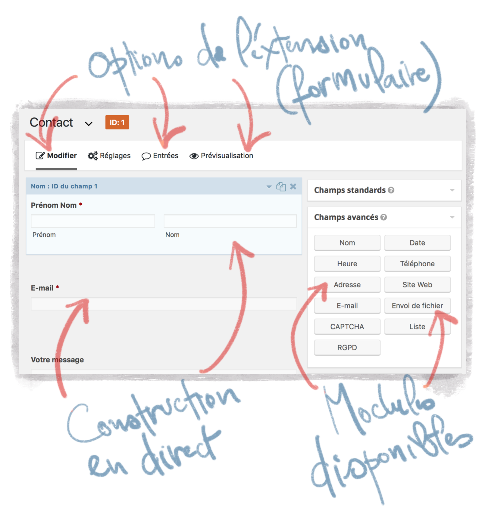 Multiplier les options dans WordPress avec les extensions
